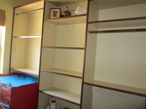 Kid's Space - 1/2 Closet, 1/2 Play Area!