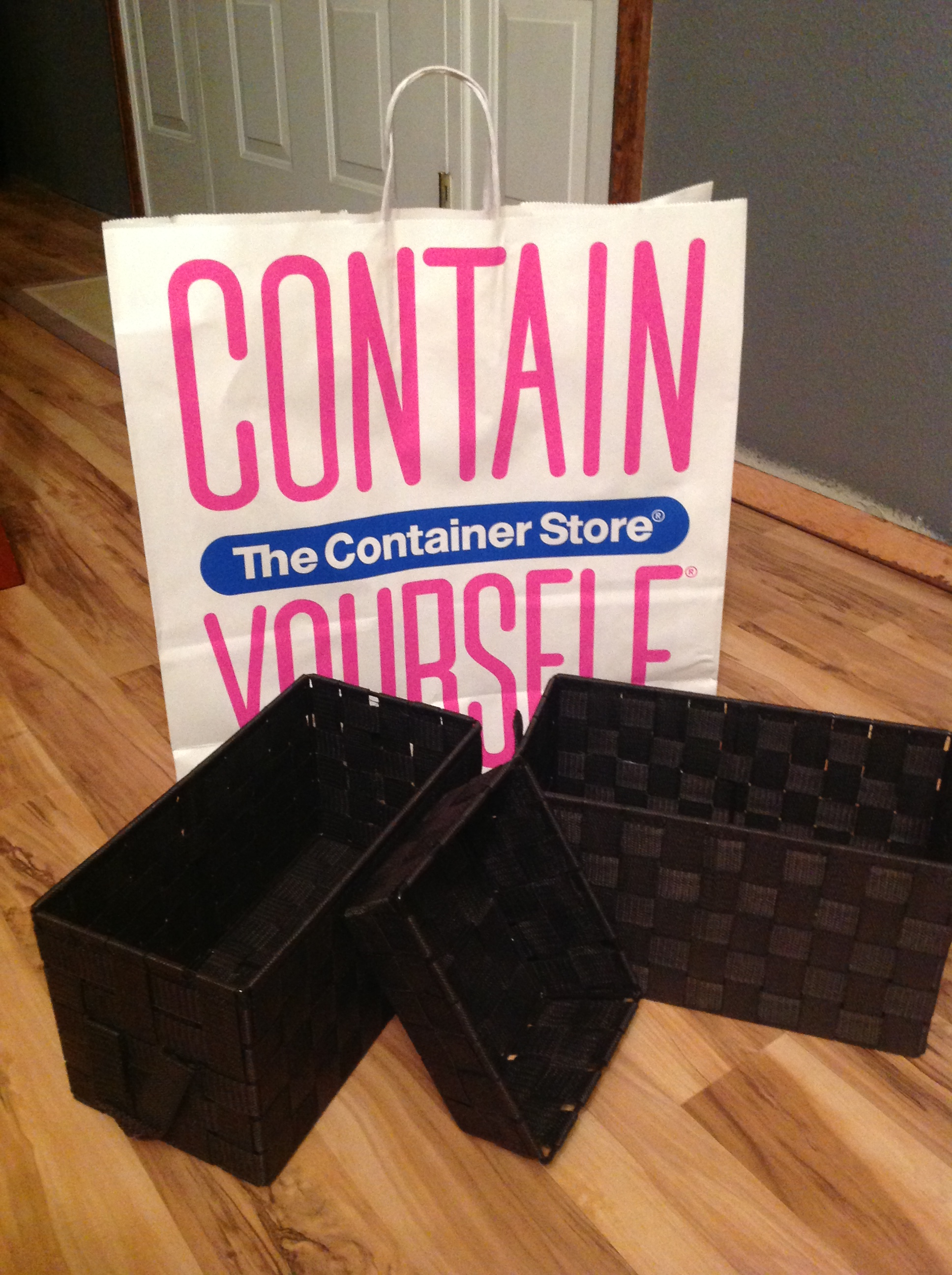 Container Store Shopping (1)