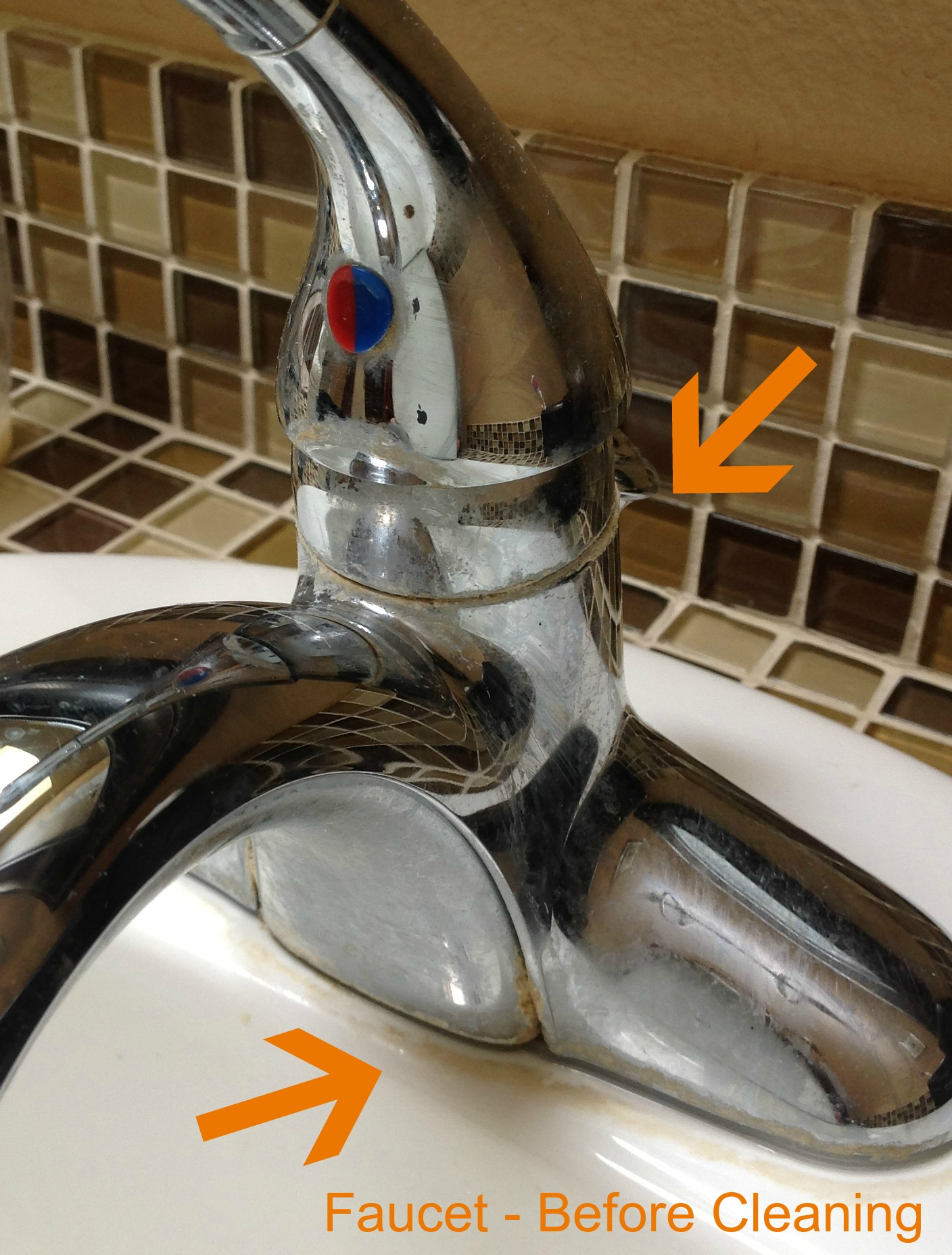 Awesome Removing Calcium Deposits From Faucet Gallery - The Best ...