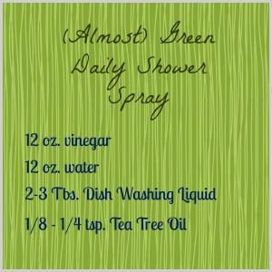 Green Shower Spray