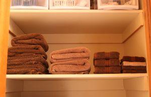 Linen Closet - Towels