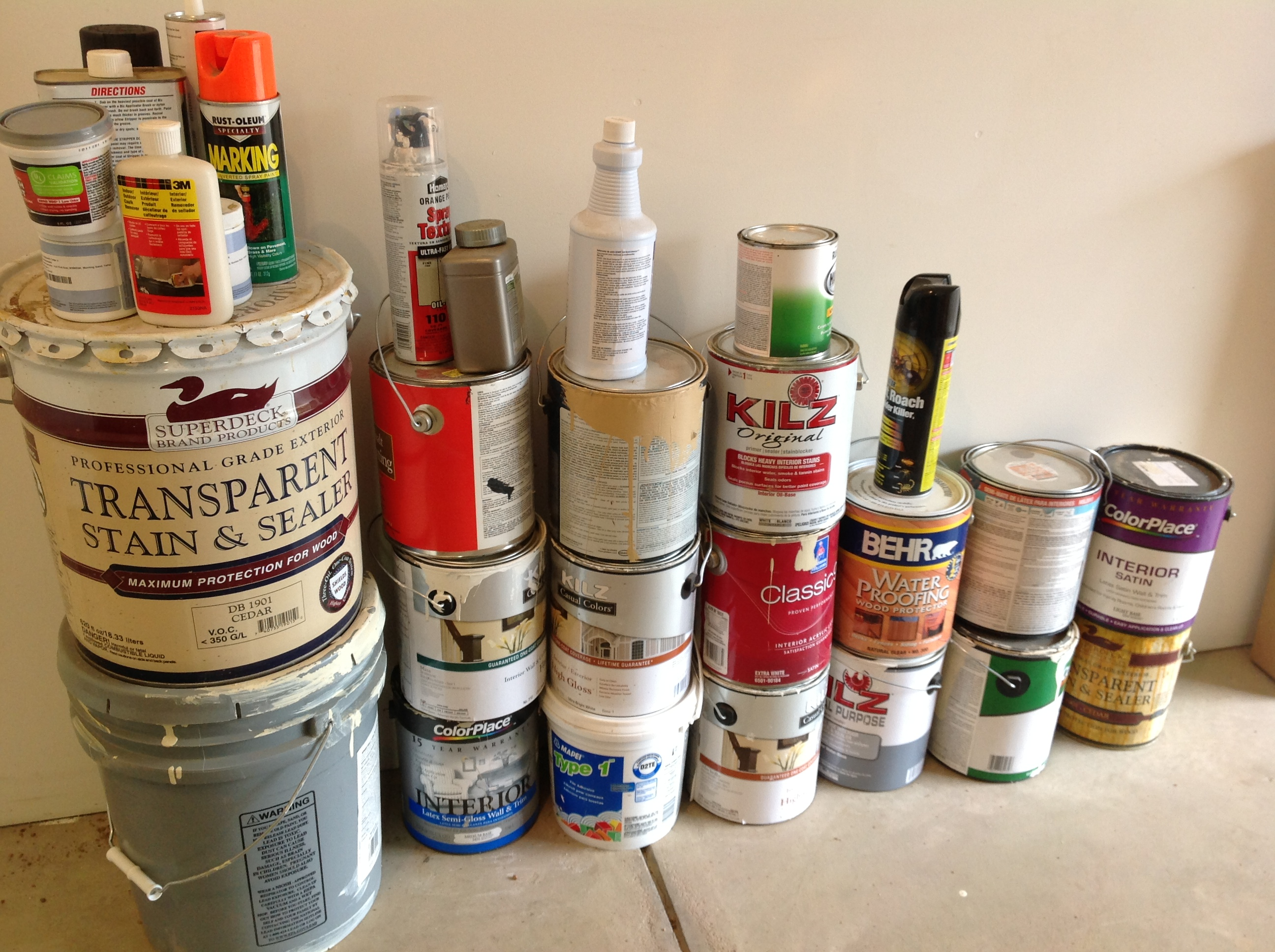 How To Throw Away Paint Cans