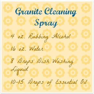 Granite Cleaning Spray